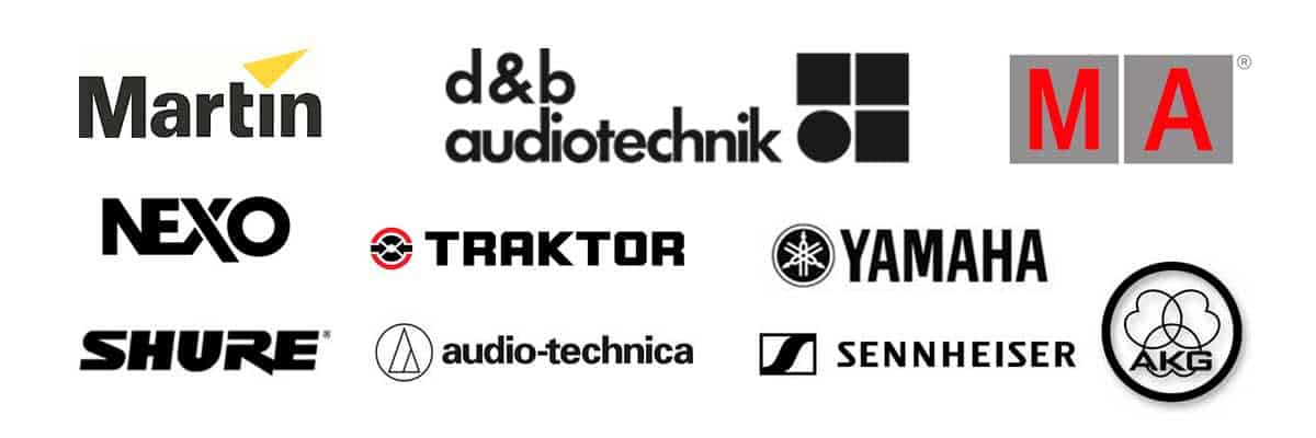 marcas de equipos de sonido para alquilar en Barcelona